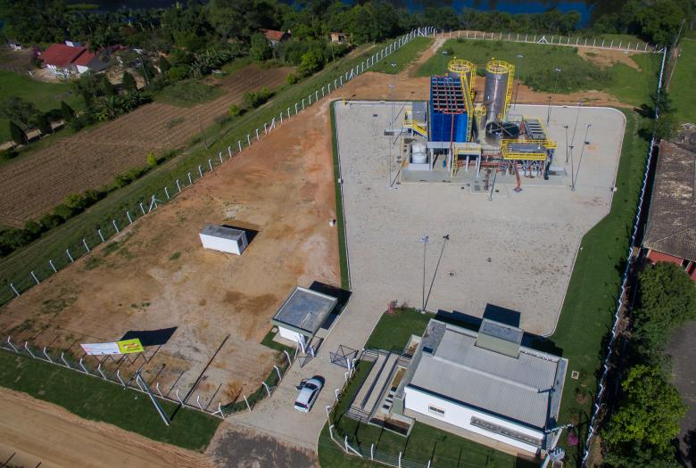 sewage treatment plant, State of Santa Catarina, CASAN, Brazil, water