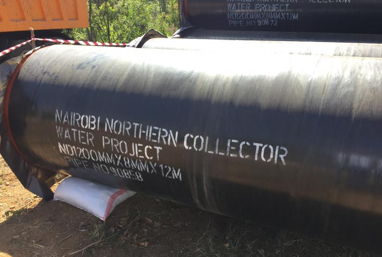 Extending the Nairobi Potable Water System (Northern Collector)