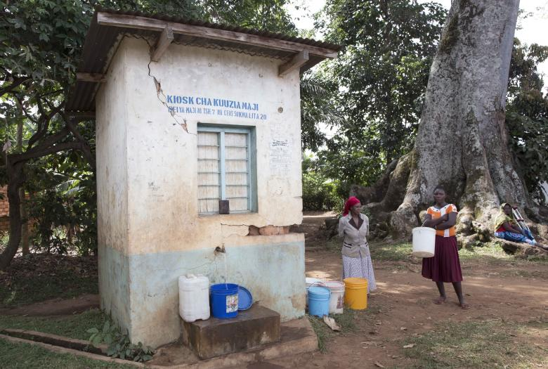 Tanzania water services development / Ania Gruca