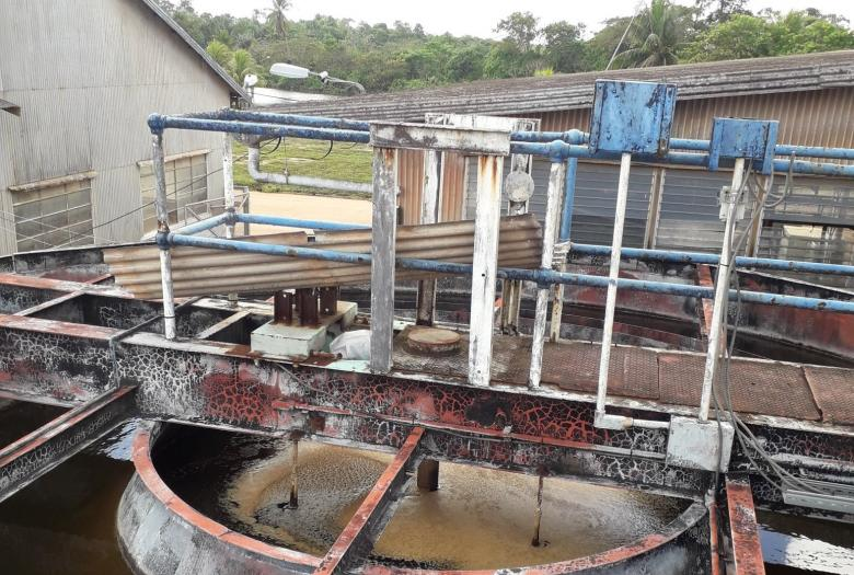 Water treatment plant, Moengo, Suriname