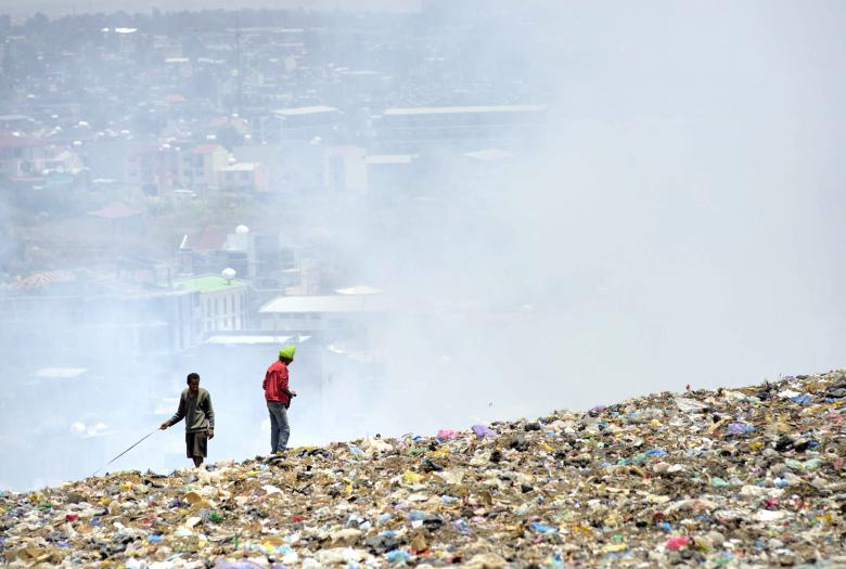 Rehabilitating the Addis Ababa landfill to improve the urban environment / Didier Gentilhomme AFD