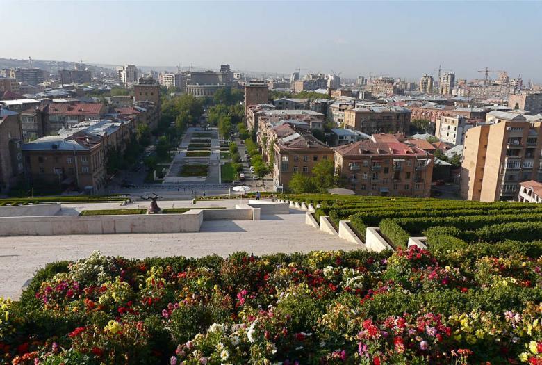 Ville, paysage urbain, Arménie