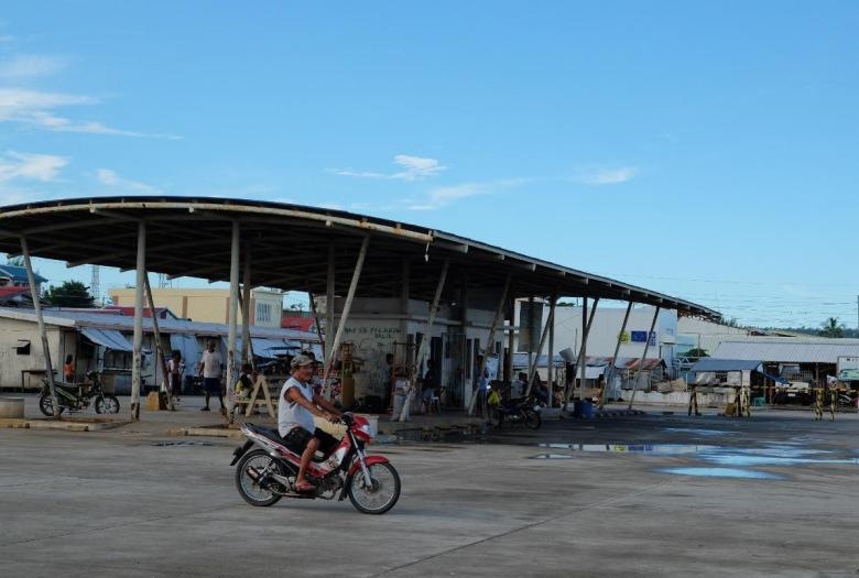 bike, city, urban landscape, Philippines