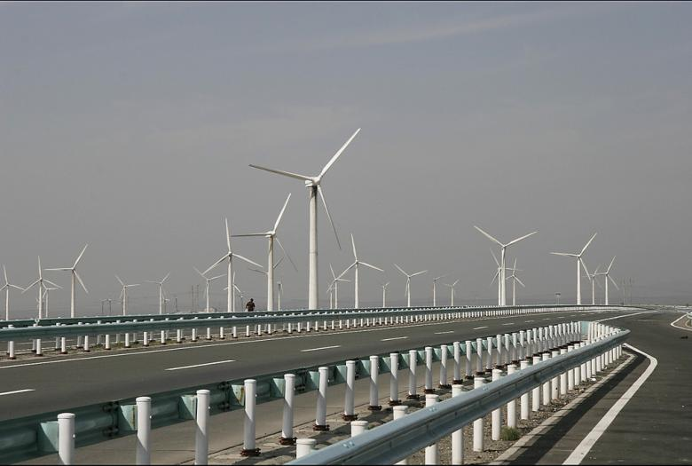wind turbines, renewable energy, China