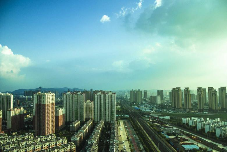 city, Xiangyang, urban, China