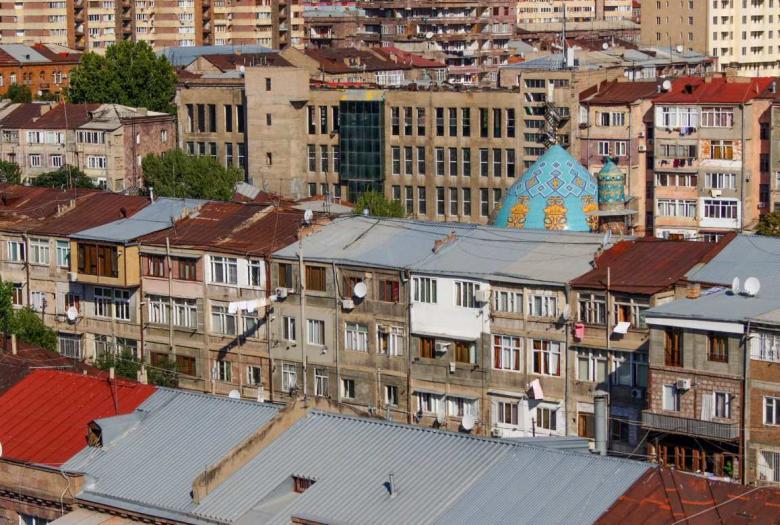 paysage urbain, Arménie