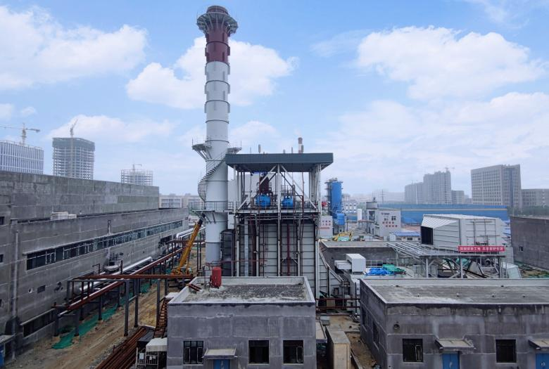 A gas-fired trigeneration system in Qingdao