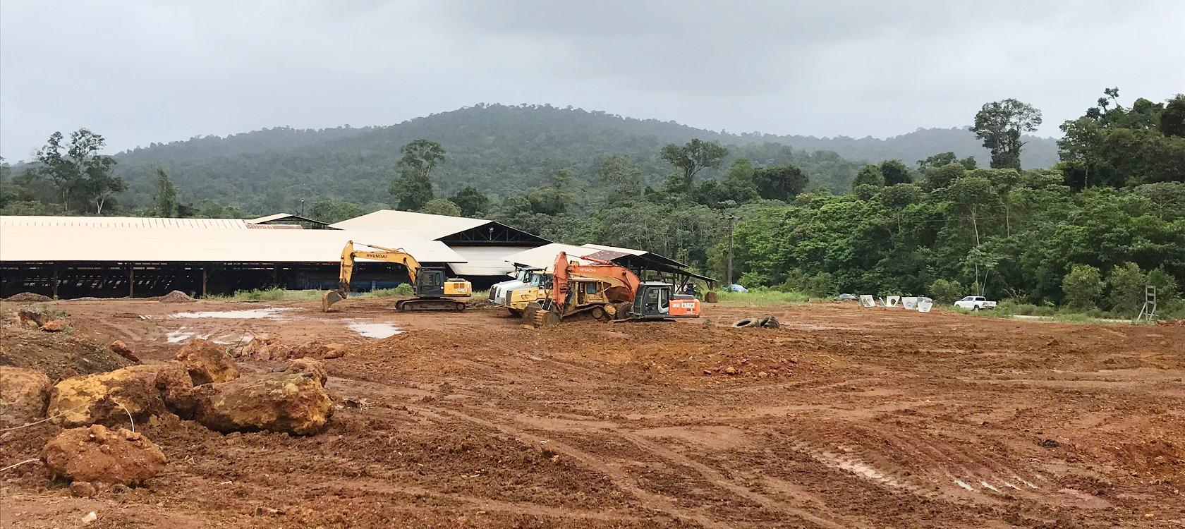power station biomass guyana electric renewable energy wood construction site