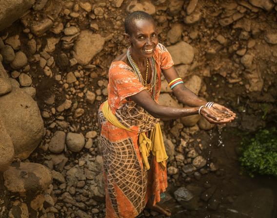Marsabit, eau, Kadandara