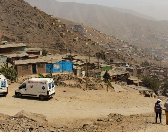 Samu Social Lima Pérou