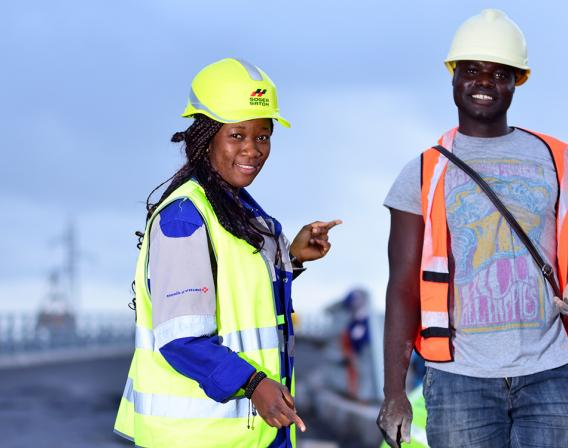 Rehabilitating National Route 3 (NR3), Douala, Cameroon,Construction That Changes A City And Lives