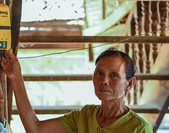Birmanie, électricité