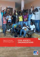 Civil Society Organizations Brochure Cover
