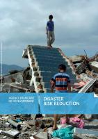 Disaster risk reduction brochure cover