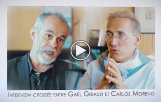 Rencontre entre Gaël Giraud et Carlos Moreno et échange sur les villes durables