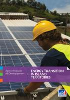 Energy transition in island territories brochure cover