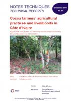 Cocoa farmers' agricultural practices and livelihoods in Côte d'Ivoire