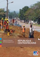 La République Centrafricaine plaquette couverture