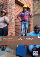 Afrique du Sud plaquette couverture