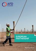 European partnership brochure cover
