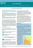 Agua y saneamiento : Balance a mitad de período en el marco de la intervención sectorial 2014-2018