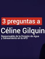 Céline Gilquin l'eau un défi majeur