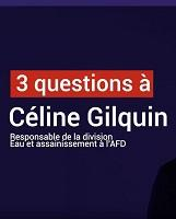 Interview Céline Gilquin, eau assainissement
