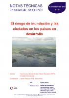 Couverture El riesgo de inundación y las ciudades en los países en desarrollo