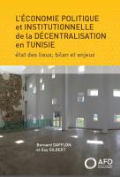 economie-politique-institutionnelle-decentralisation-tunisie