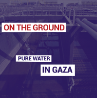 Pure water in Gaza