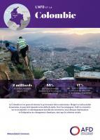 La Colombie est en passe de devenir la 3e économie latino-américaine. Malgré un indiscutable dynamisme, le pays doit répondre à des défis de taille. Pour l'accompagner, l'AFD se concentre sur trois objectifs : le développement durable des territoires, les politiques d'atténuation et d'adaptation au changement climatique, ainsi que la cohésion sociale.