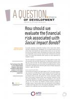 Financial risk and Social Impact Bonds-Sciau-couv