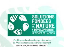 Compte-rendu conférence Solutions fondées sur la nature