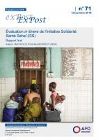 Évaluation Initiative Solidarité Santé Sahel_couv