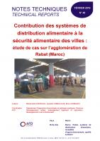 Etude sur la contribution des systèmes de distribution alimentaire à la sécurité alimentaire des villes au Maroc