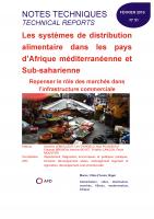 Etude sur les systèmes de distribution alimentaire dans les pays d'Afrique méditerranéenne et Sub-saharienne