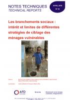 Etude sur les branchements sociaux et les ménages vulnérables