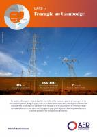 L'AFD et l'énergie au Cambodge