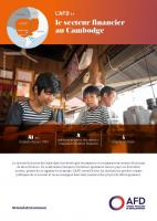 L'AFD et le secteur financier au Cambodge