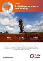 L'AFD et le développement rural au Cambodge
