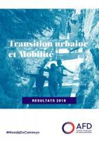 Transition urbaine et mobilité : résultats 2018 du groupe AFD