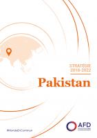 Stratégie Pakistan 2018 - 2022, Agence Française de Développement