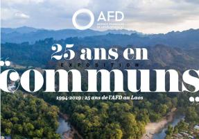 AFD exhibition in Laos - 25 years in common