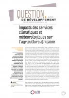 Impacts-services climatiques et météorologiques-agriculture africaine_couv