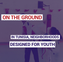 In Tunisia, neighborhoods designed for youth