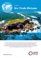 L'AFD et les Trois Océans, Outre-mer et Etats étrangers limitrophes des océans Atlantique, Indien et Pacifique