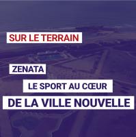 Zenata, Le sport au cœur de la ville nouvelle