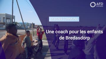 Une coach pour les enfants de Bredasdorp