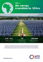 AFD and the energy transition in Africa