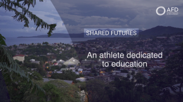 An athlete dedicated to education